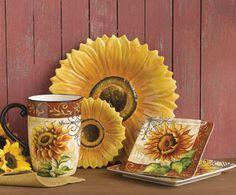 Tuscan Sunflower Dinnerware