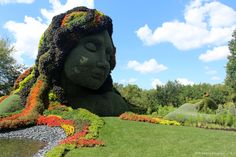 xfallenmoon: mosaiculture at the montreal botanical gardens