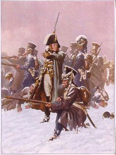 The rearguard, under the command of Marshal Ney. Last French command to get out of Russia.