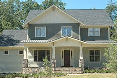 Houseplans.com Plan #413-117 Front Elevation