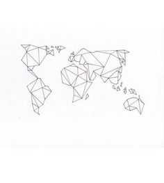 Origami world map ink inspo tattoo inspiration ink inspo origami world map ink inspo tattoo inspiration ink inspo pinterest tattoo gumiabroncs Image collections