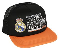 REAL MADRID FC TRUCKER CAP HAT  OFFICIAL AUTHENTIC NEW SEASON CRISTIANO RONALDO #RHINOX #RealMadrid