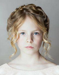 Victoria Anne Photography East Grinstead, West Sussex child portrait Photographer. Studio fine art. Beautiful blue eyes. Head shot. Model portfolio