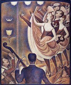 Le Chahut - Georges Seurat