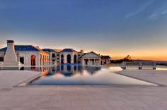Magnificent Luxury Mansion in Bradbury Estates, California 41 pool sun set