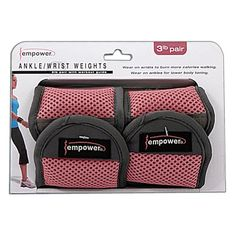 Empower Adjustable Ankle Weights 5lb... for only $22.99