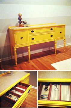 {Jessica Stout Design}: {DIY} MARIGOLD BUFFET TABLE  /  painted furniture