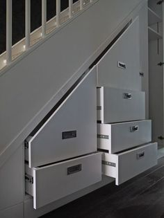Awesome Cool Ideas To Make Storage Under Stairs 54