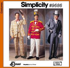 Simplicity 9686 Music Man & My Fair Lady inspired pattern