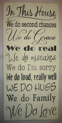We do love Family Rules Primitive Subway Art di CottageSignShoppe Great Quotes, Quotes To Live By, Inspirational Quotes, Motivational, Wall Quotes, Me Quotes, Fonts Quotes, Rules Quotes, Status Quotes