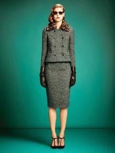 Traje sastre para dama. Me encanta! http://aix0.com/guapasygorditas/index.php/traje-sastre-para-dama/