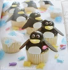 Penguin cupcakes! :)