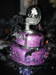 halloween wedding cakes | Halloween Wedding Cake 0002 Picture