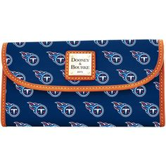 Tennessee Titans Dooney   Bourke Women s Team Color Continental Clutch 9684f8227