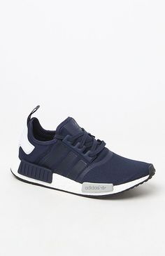 NMD Runner Navy & White Shoes More