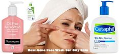 Best Acne Face Wash For Oily Skin  #best #acne #facewash #for #adults #drugstore #teens #OilySkinRemedy