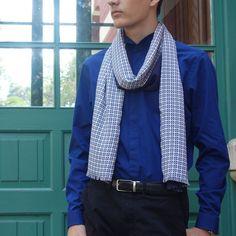 Bufanda hombre edición limitada, pieza única Crochet, Fashion, Geometric Prints, Scarves, Sustainable Fashion, Elegant, Men, Moda, Fashion Styles