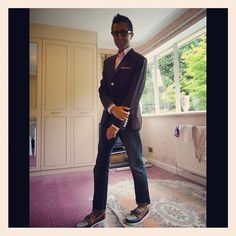 @amitavnarula looking great in his @ClubMonaco blazer #YouBoughtIt