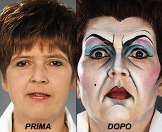 Tutorial trucco carnevale passo passo: Make-up Matrigna http://loacenter.blogspot.it/2014/01/trucco-carnevale-passo-passo-make-up.html