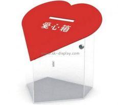 Acrylic display manufacturers custom made acrylic collection boxes for fundraising DBS-332 #acrylicdisplaymanufacturers #custommadecollectionboxes #acryliccollectionboxesforfundraising #Acryl-Display-Hersteller #MaßgefertigteSammelboxen #Acryl-SammelboxenfürFundraising #produttoridiespositoriinacrilico #scatoleperlaraccoltasumisura #scatoleperlaraccoltainacrilicoperlaraccoltafondi