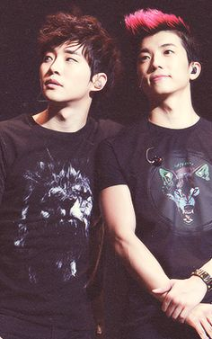 2PM JUNHO & WOOYOUNG