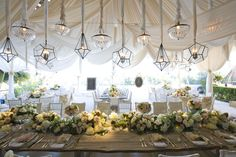 15 Swoon-Worthy Tent Wedding Ideas - Belle The Magazine
