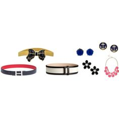 sg accessories by shop2082 on Polyvore featuring мода, MARC BY MARC JACOBS, Brooks Brothers, Kenneth Jay Lane, Tommy Hilfiger and H&M
