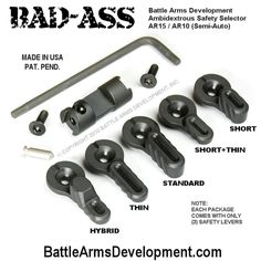 Battle Arms Development - Ambidextrous Safety Selector (BAD-ASS).