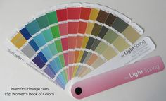Light Spring Book of Colors | Invent Your Image
