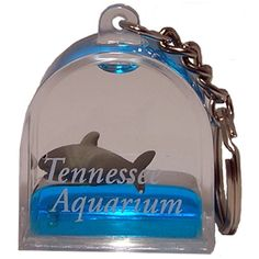 Tennessee Aquarium Gift Shop Online - Detail1 - 33759 - Shark Floater Keychain - Animals - Souvenirs - Tennessee Aquarium Gift Shop Online