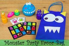 Monster favor bag-1