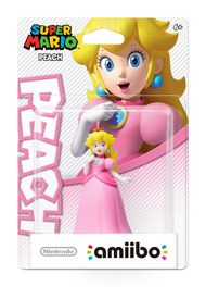 Boxshot: Peach Super Mario amiibo Figure by Nintendo