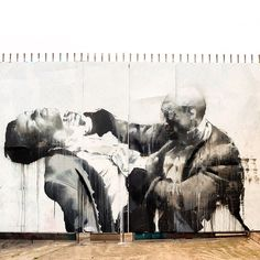 "Conor Harrington ""Once Were Warriors"" New Mural - East London, UK"