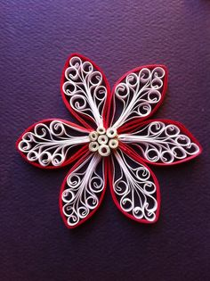Royal Flower Tutorial / Rachielle's Quilling