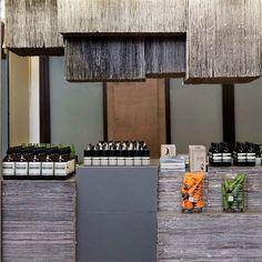 new york: aesop kiosk opening