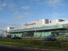 George Best Belfast City Airport via Wikipedia Northern Irish, Northern Ireland, Belfast City, City Airport, Best Cities, Titanic, Homeland, Manchester United, United Kingdom