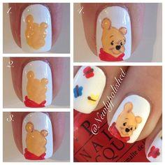 Winnie The Pooh Nail Art Inspiration | Sole Tutorials