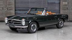 Mercedes-Benz SL 'Pagoda' - Classic Driver - MAGAZINE - Classic Car