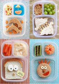 Cute & Creative Snacks for Kids