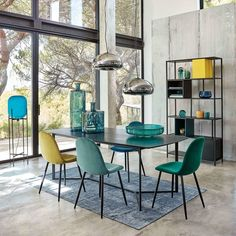 Modern style furniture & home accessories 8 Seater Dining Table, Dining Room Table Decor, Dining Room Design, Dining Chairs, Room Decor, Kitchen Design, Furniture Styles, Furniture Decor, Interior Styling