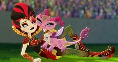 Ever After High Dragon Games Lizzie Hearts Ever After High, Fairy Tail Characters, Cartoon Characters, Lizzie Hearts, After High School, Dragon Tail, Dragon Games, Meraculous Ladybug, Raven Queen