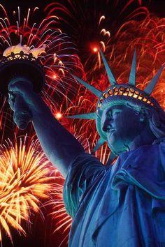 Lady Liberty's Celebrating!