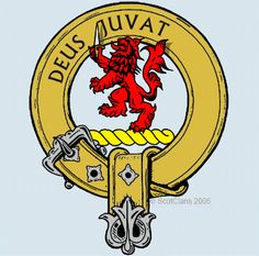 McDuff family crest I have a broch just like this.