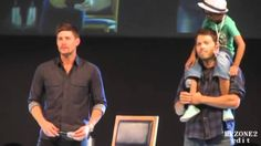 Funny Supernatural Convention Moments Part 2! SPN  6:30 is EPIC!!!!! Favorite moment when Jensen danced to Michael Buble :)