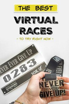 No races that fit your training? No time to travel? Too expensive? Checkout 11 reasons to do more virutal races from to half marathons!