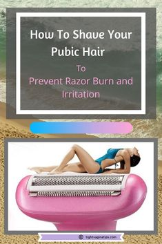 How to shave your bikini area? Which type of a razor to use? How to avoid bumps, razor burn and irritation? Tips and tricks, how to style your most intimate part down there. Ingrown Hair Bikini Area, Treat Ingrown Hair, Razor Burn Remedies, Best Womens Razor, Shaving Bumps, Skin Bumps, Best Shave, Razor Burns, The Bikini