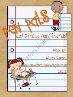 Pen Pals:  Let's Make New Friends $3.50