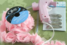 Offray Large Trend Flower Ribbon