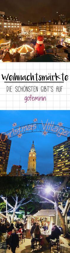 Wir präsentieren euch die schönsten Weihnachtsmärkte, die euch garantiert eine abwechslungsreiche Adventszeit bescheren.
