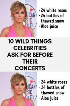 10 Wild Things Celebrities Ask for Before Their Concerts - Viral Hacks Robbie Williams, Wild Things, Ladies Shoes, Concerts, Funny Jokes, Fun Facts, Health Fitness, Hacks, Singer